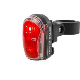 Litecco Cando USB Oświetlenie czerwony/czarny